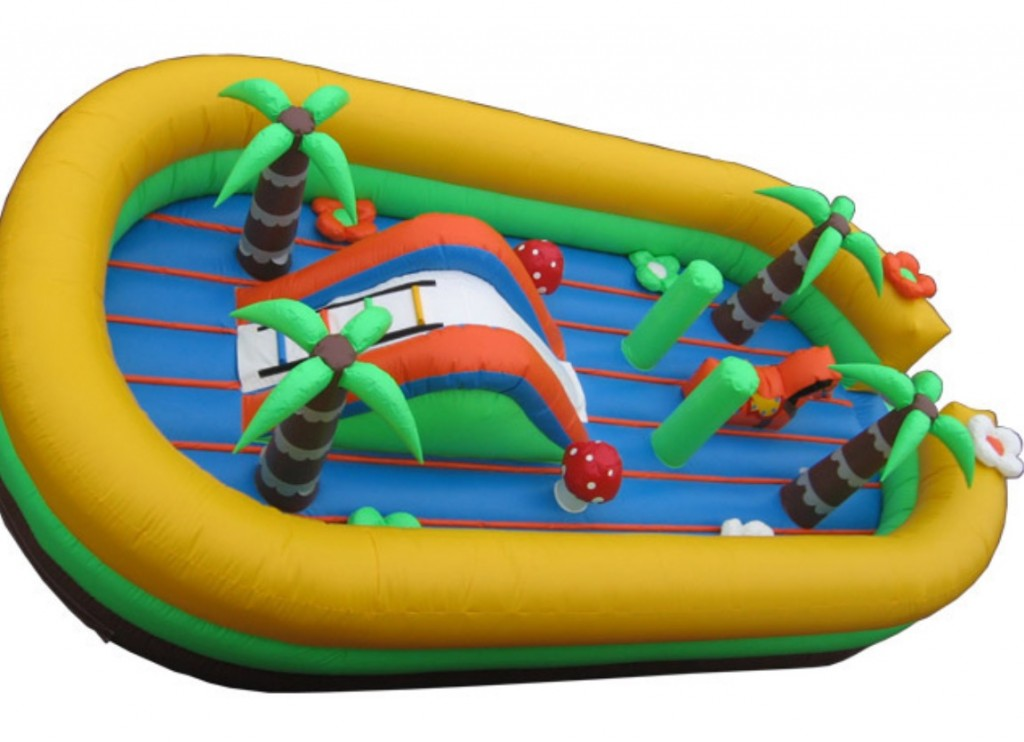 Inflatable Toddler Playground 25'L x 15'W x 5'H