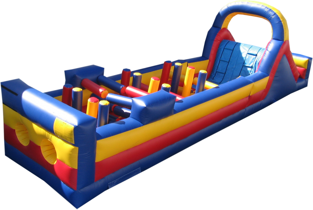 35' long Obstacle Course
